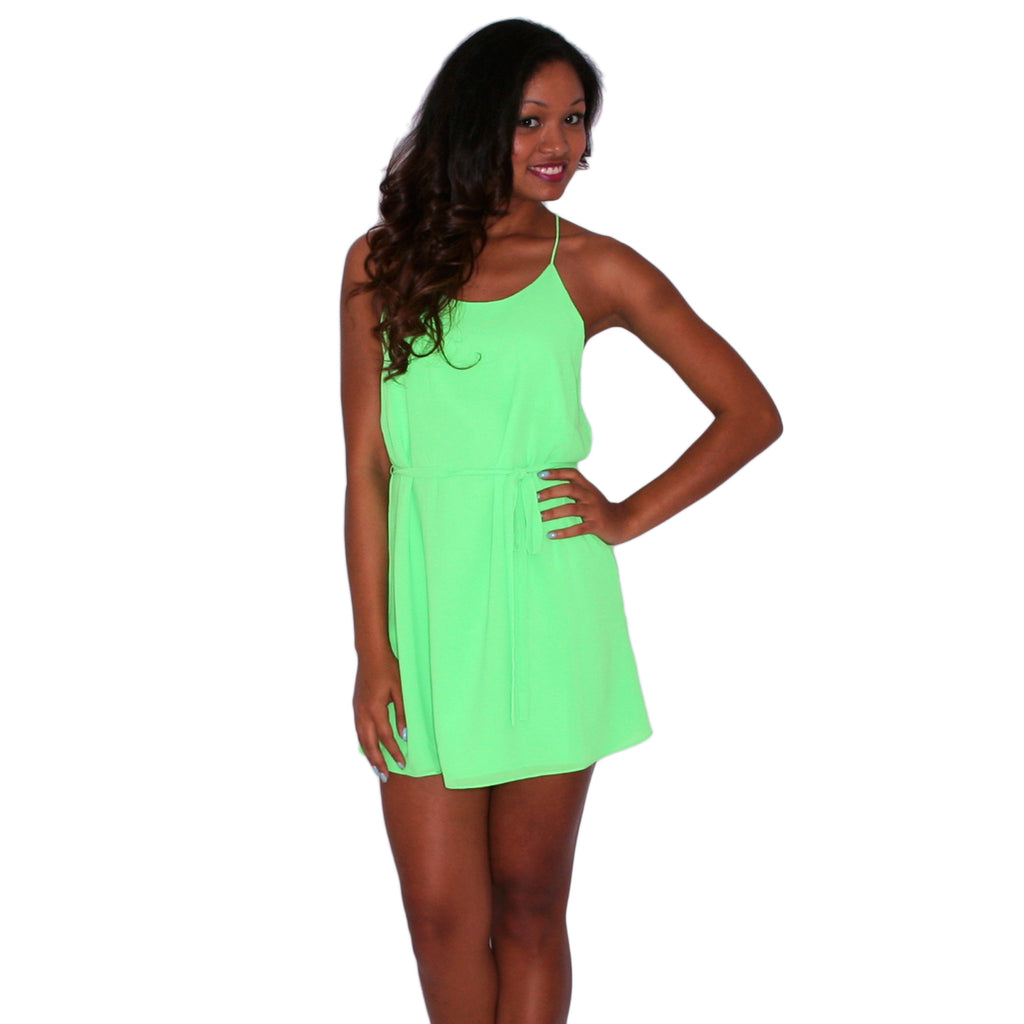 Dreaming About You Neon Green