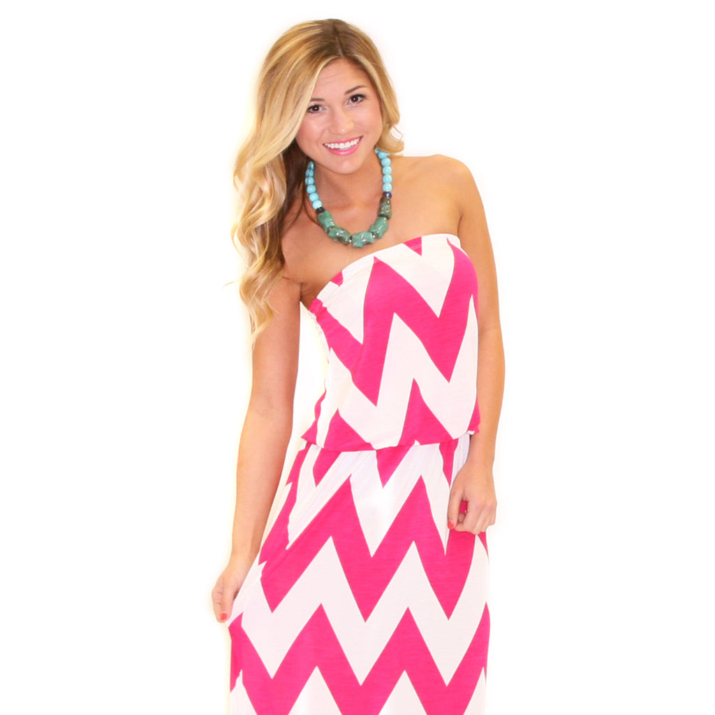 Dreaming of You Maxi Pink