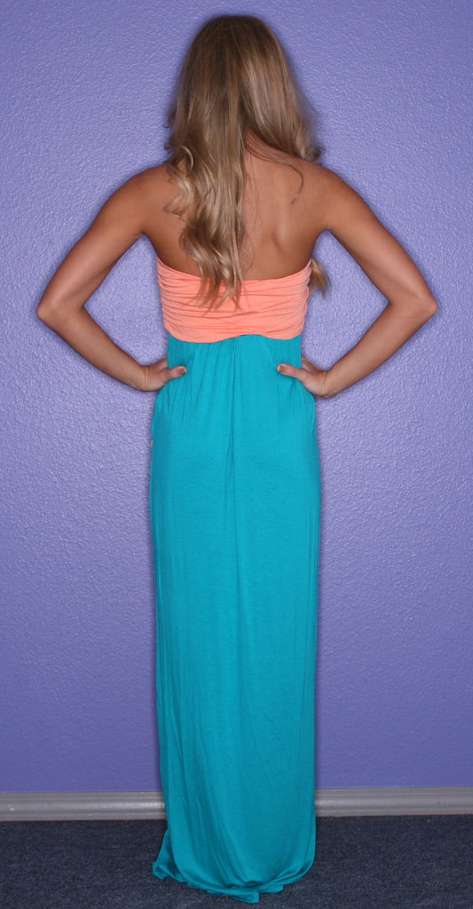 Dream Girl Maxi in Jade