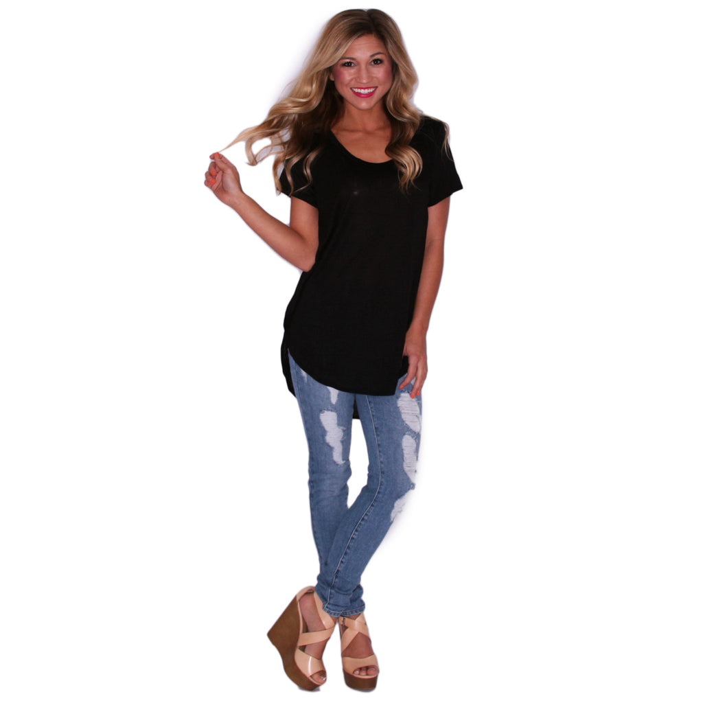 Dress To Impress Tee in Black