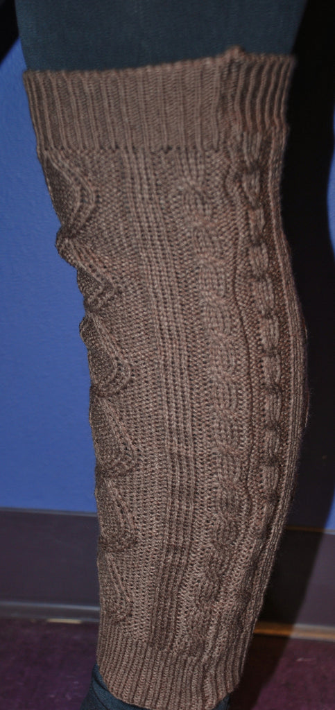 Cable Knit Leg Warmer