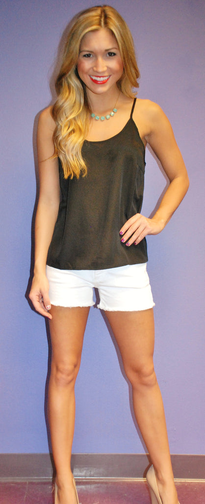 Beach Bound Tank Black
