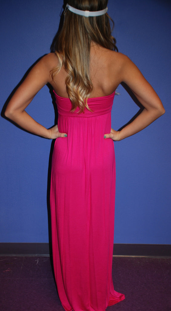 Dinner & Drinks Maxi Pink