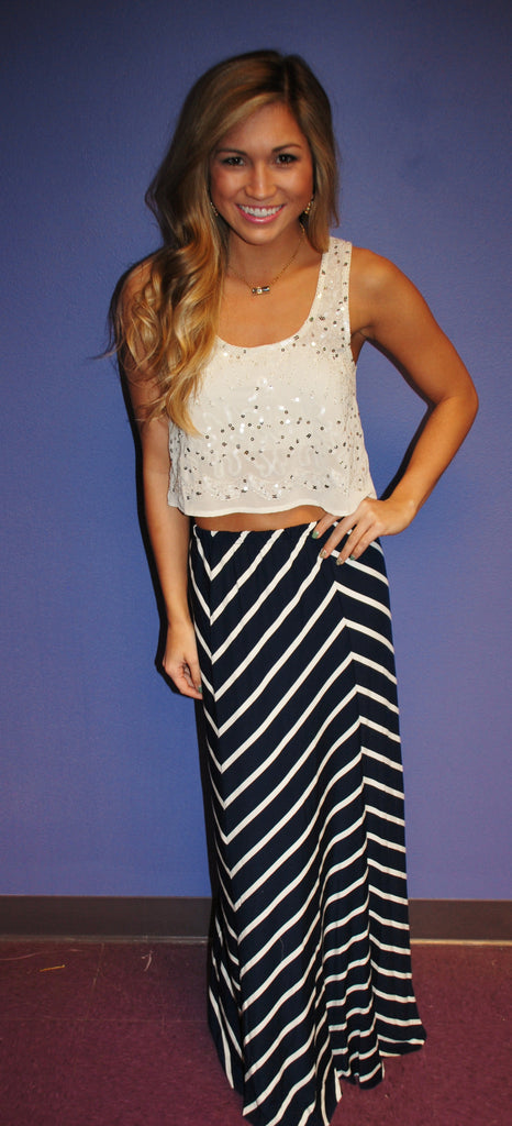 Nautical Charm Skirt