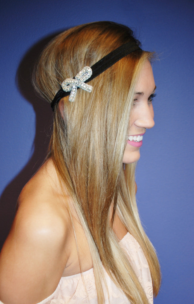 Antique Bow Headband