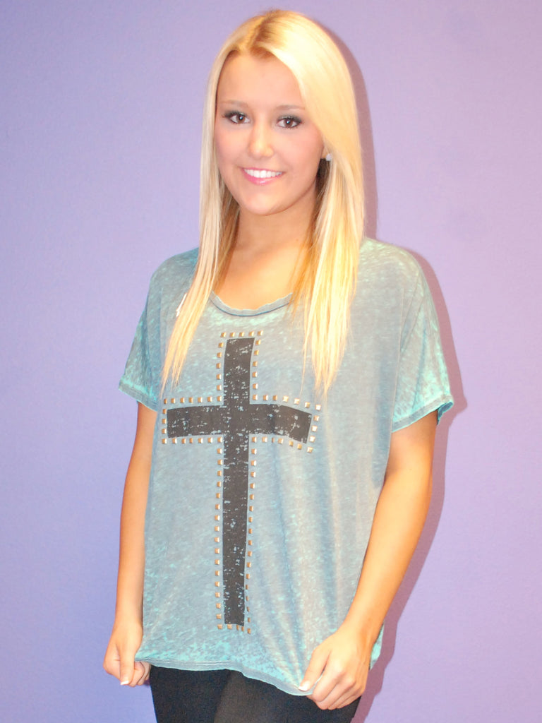 Southern Cross Tee in Green