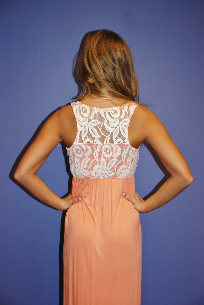 Lace Engagement Apricot
