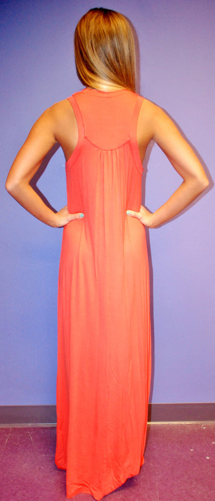 Coral Sunsets Maxi