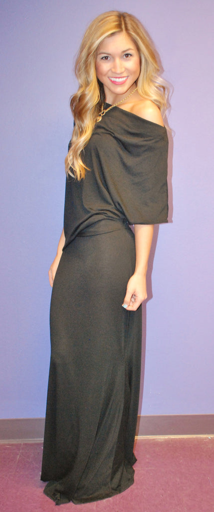 Big Reveal Maxi in Black