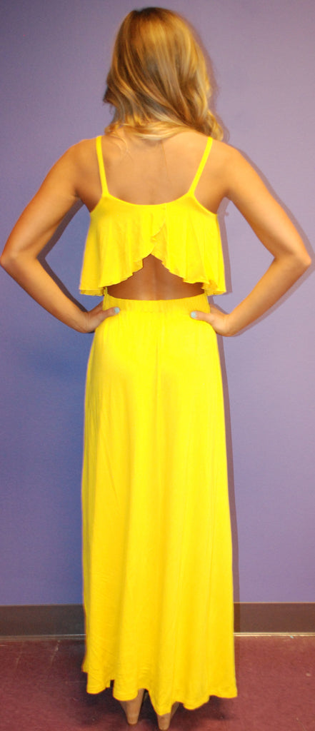 Summer Fling Maxi Yellow