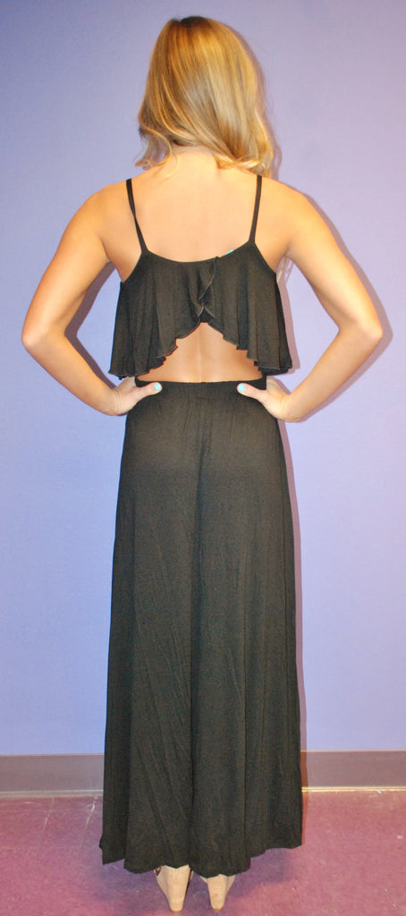 Summer Fling Maxi Black