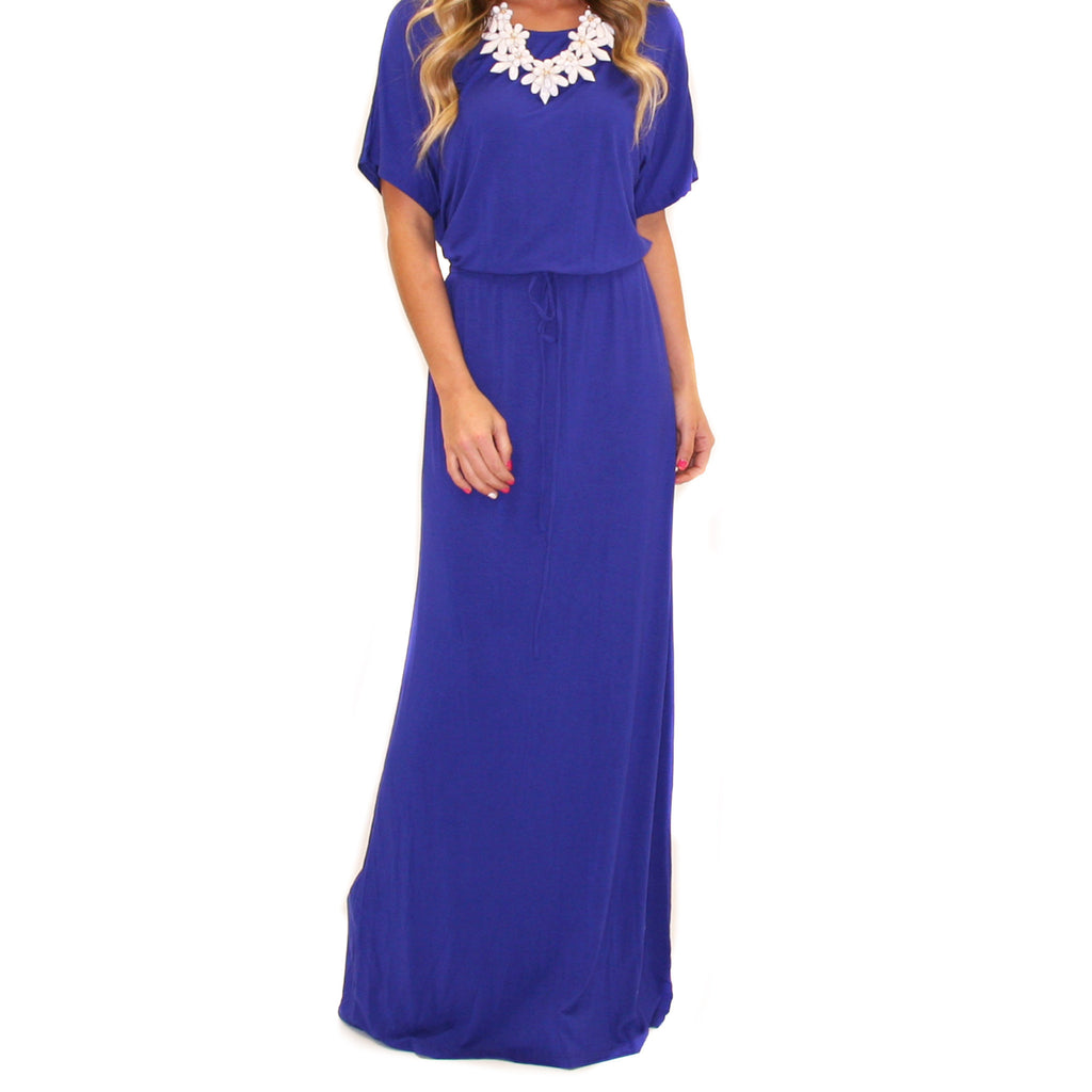 East Meets Best Maxi in Blue