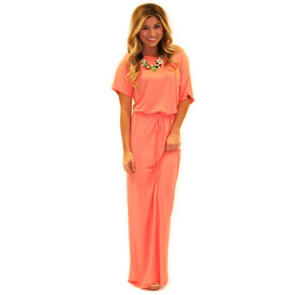 East Meets Best Maxi in Peach