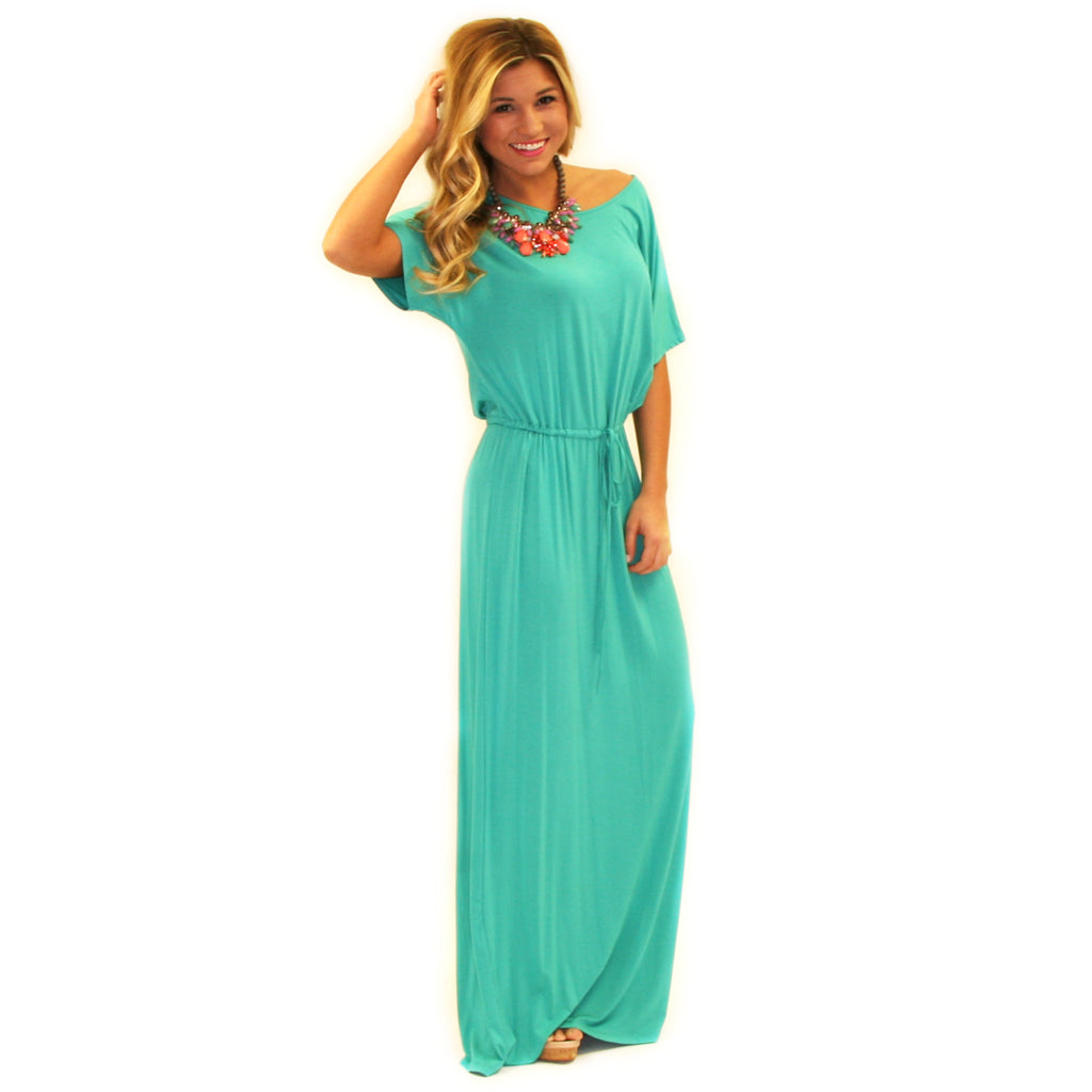 East Meets Best Maxi in Teal