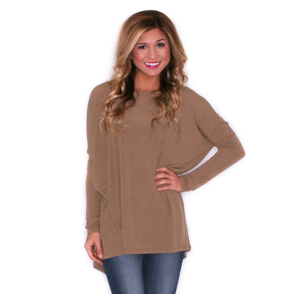 Upper East Side Tee Taupe