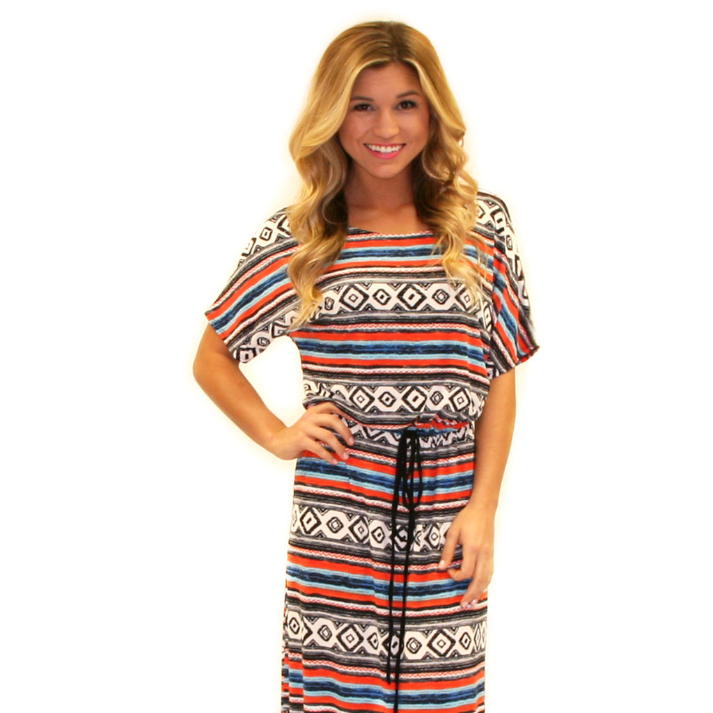 East Meets Best Aztec Maxi