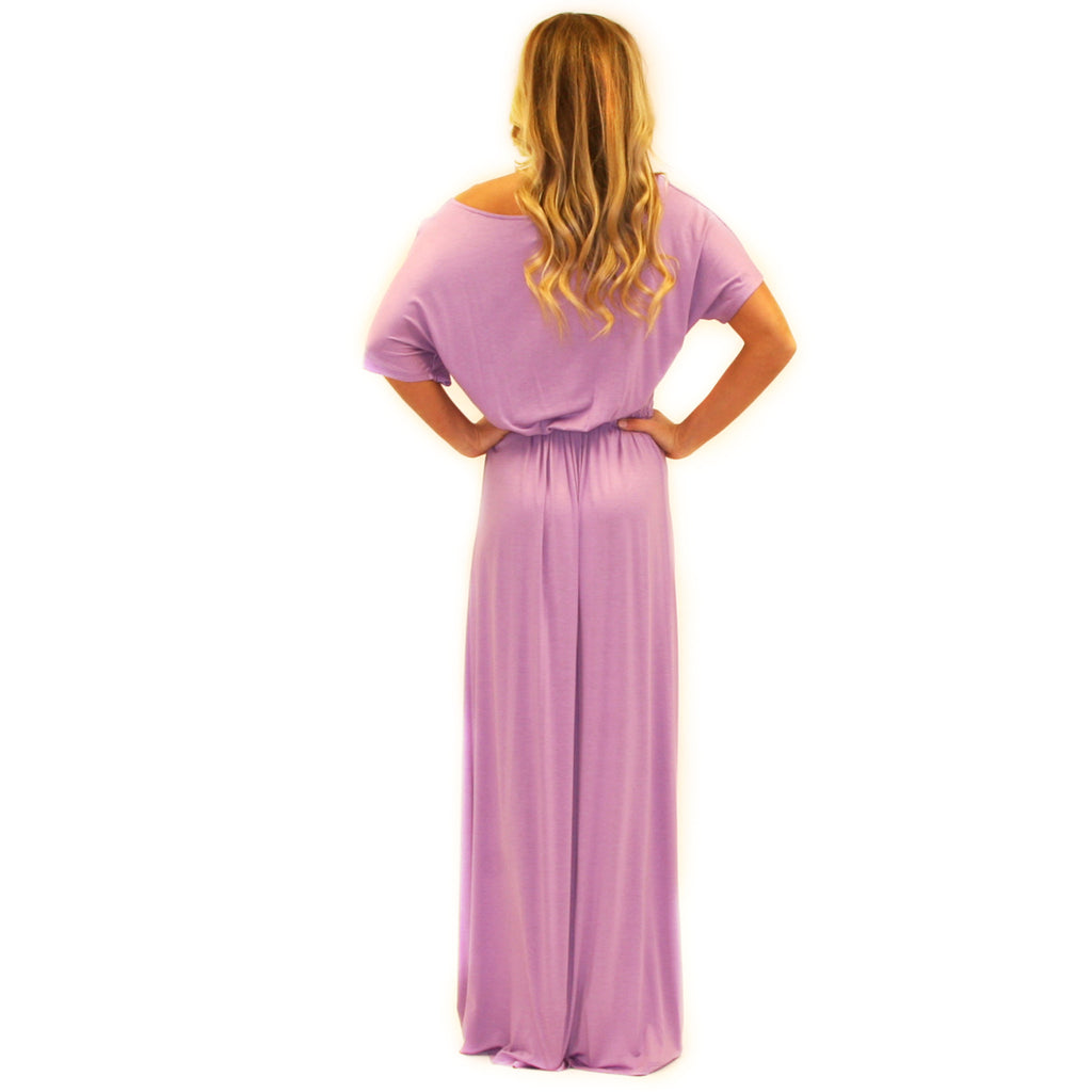 East Meets Best Maxi in Lavender