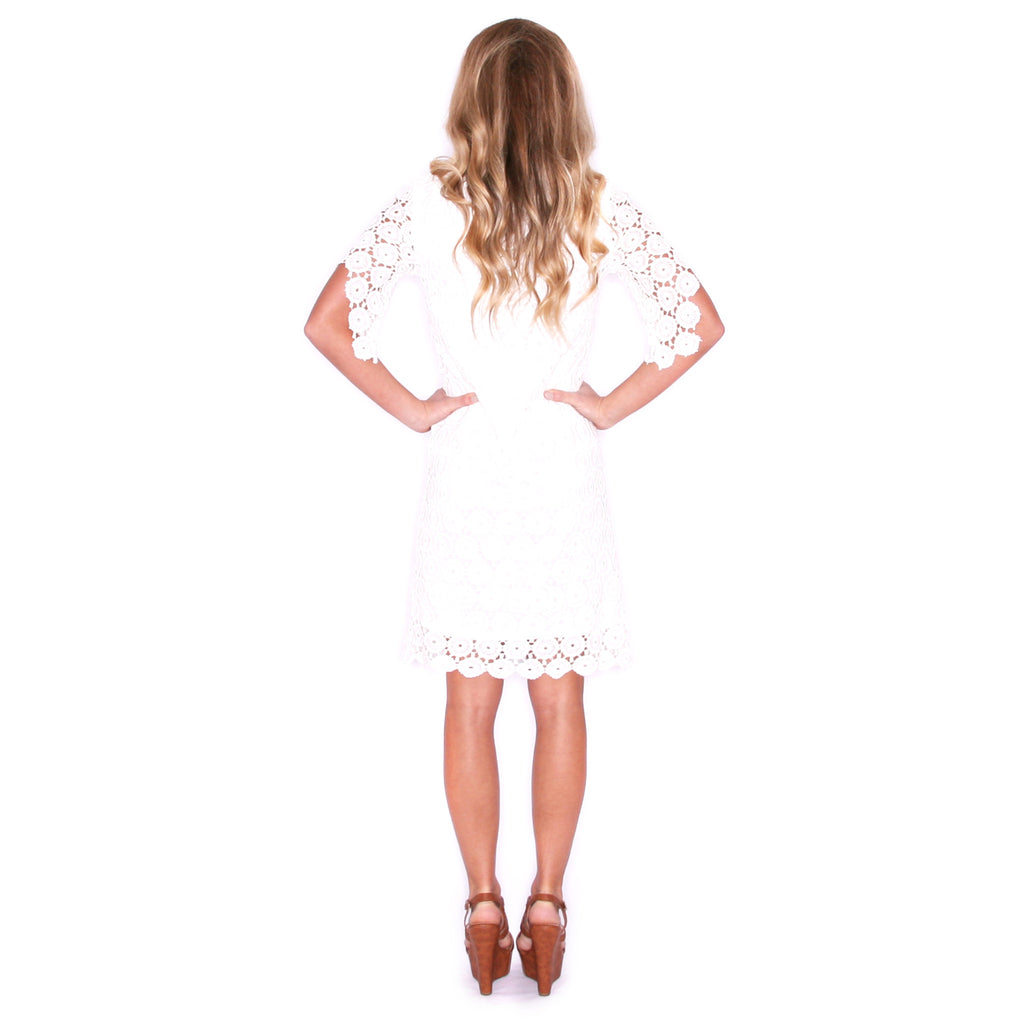 Easy On The Eyes Eyelet Dress