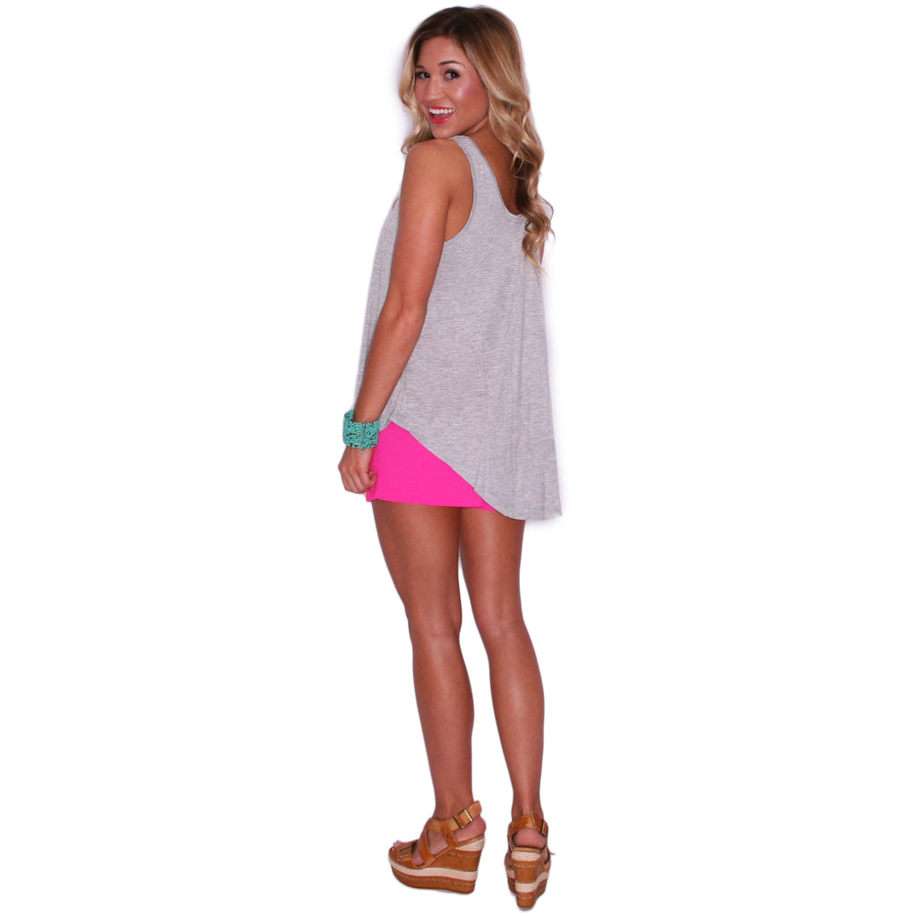 Essential Tank in Grey