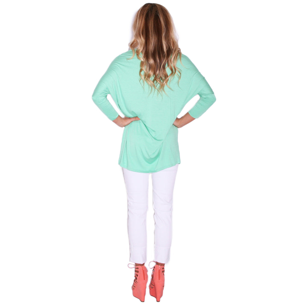 Express Yourself Tee in Mint