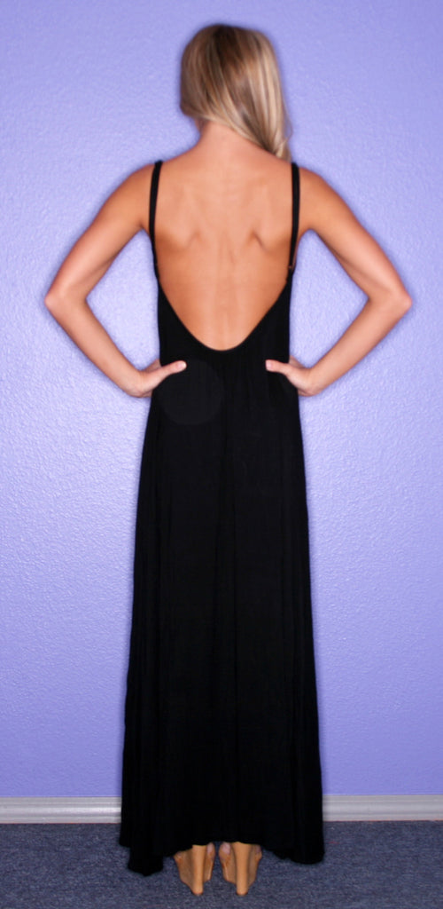 All Eyes On Me Maxi Black