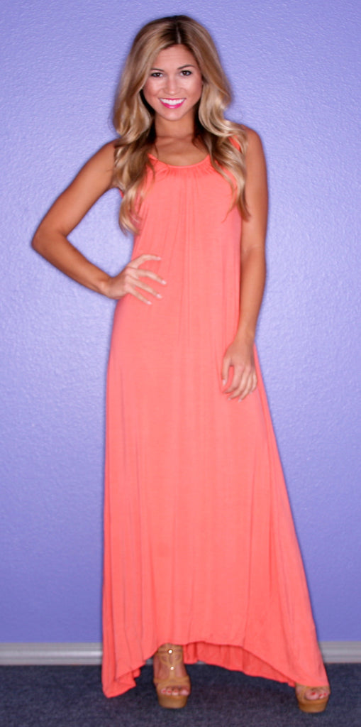 All Eyes On Me Maxi Coral