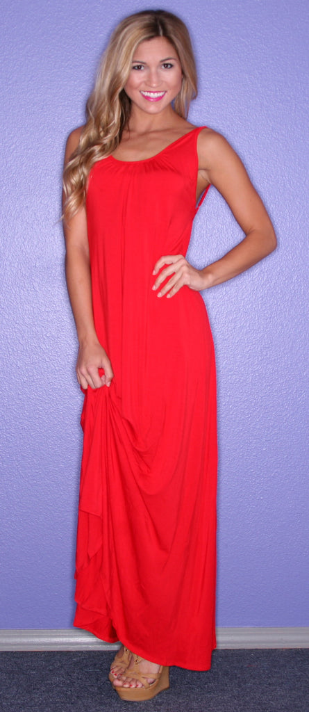 All Eyes On Me Maxi Red