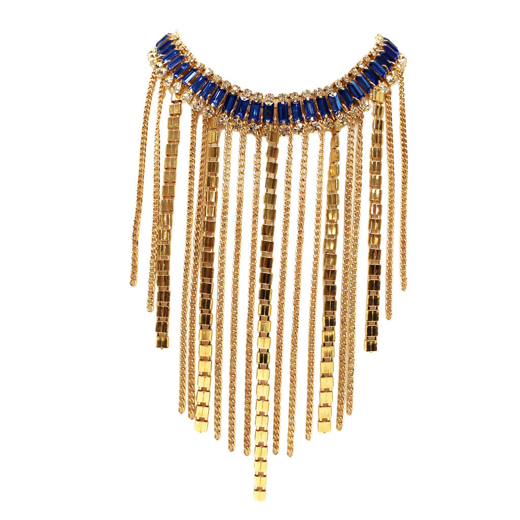 Fashion Fever Necklace in Blue