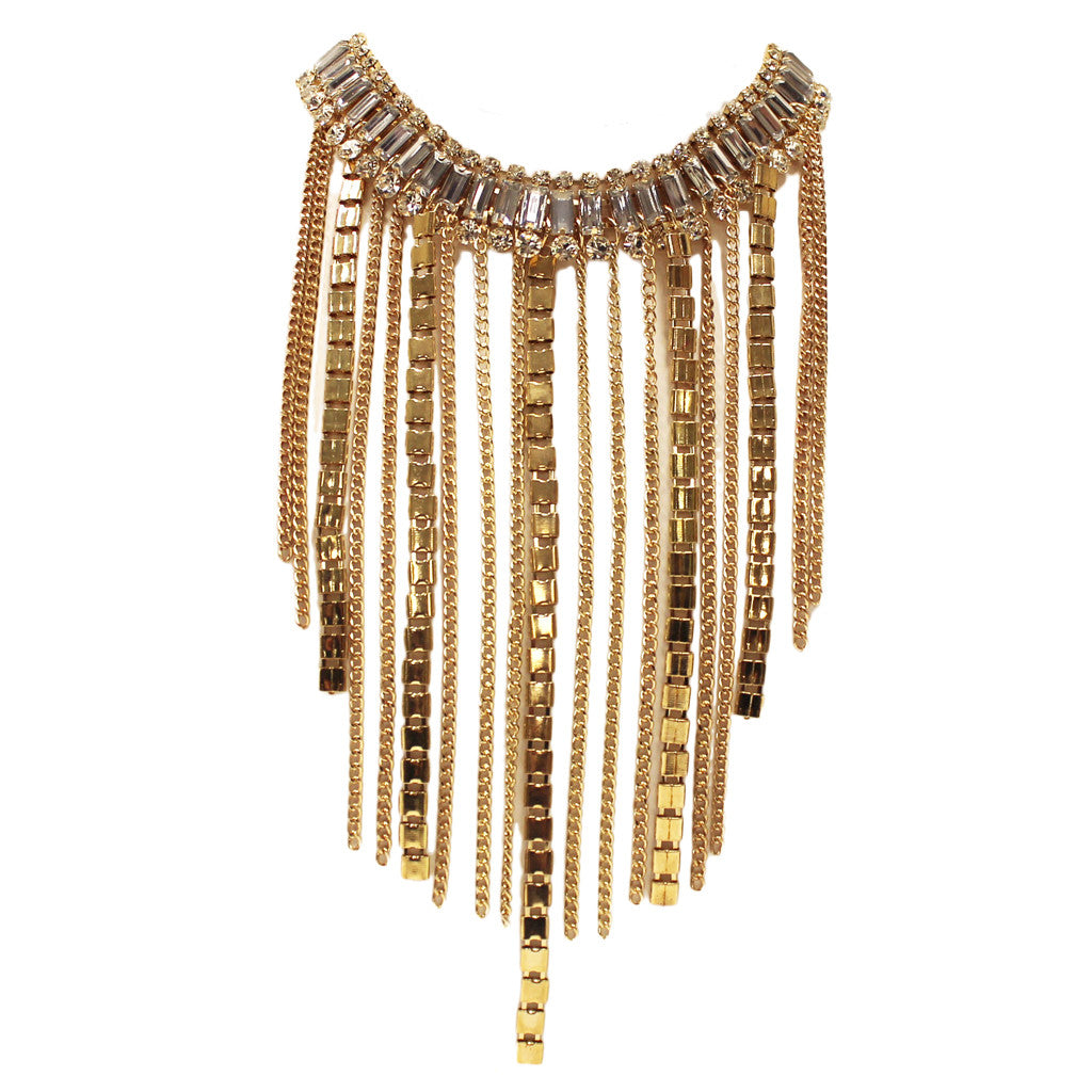 Fashion Fever Necklace in Clear
