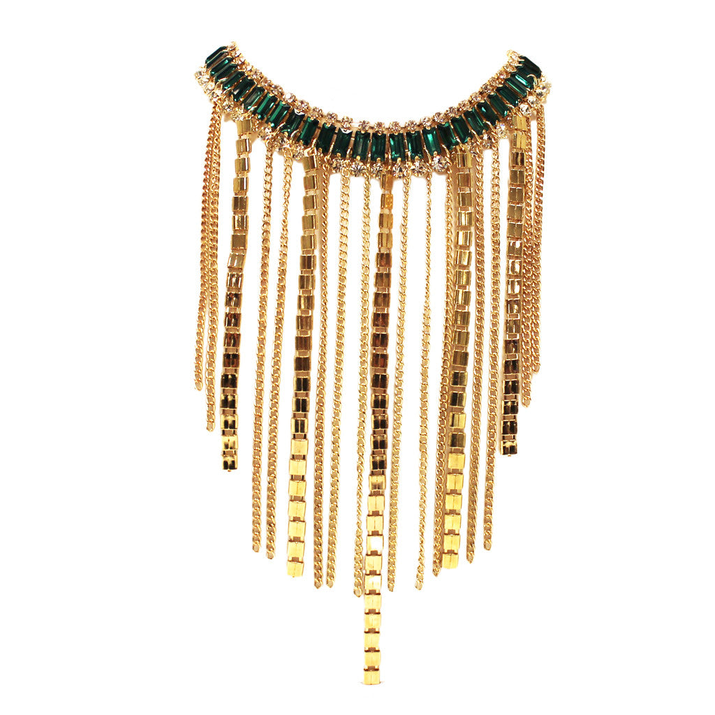 Fashion Fever Necklace in Green