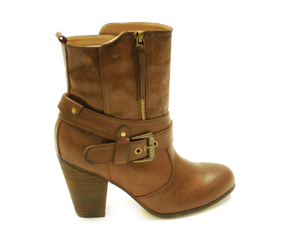The Fashionista Boot Brown