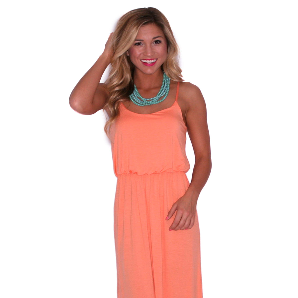 My Favorite Maxi in Apricot