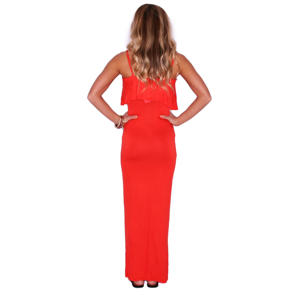 Flawless Maxi in Tangerine