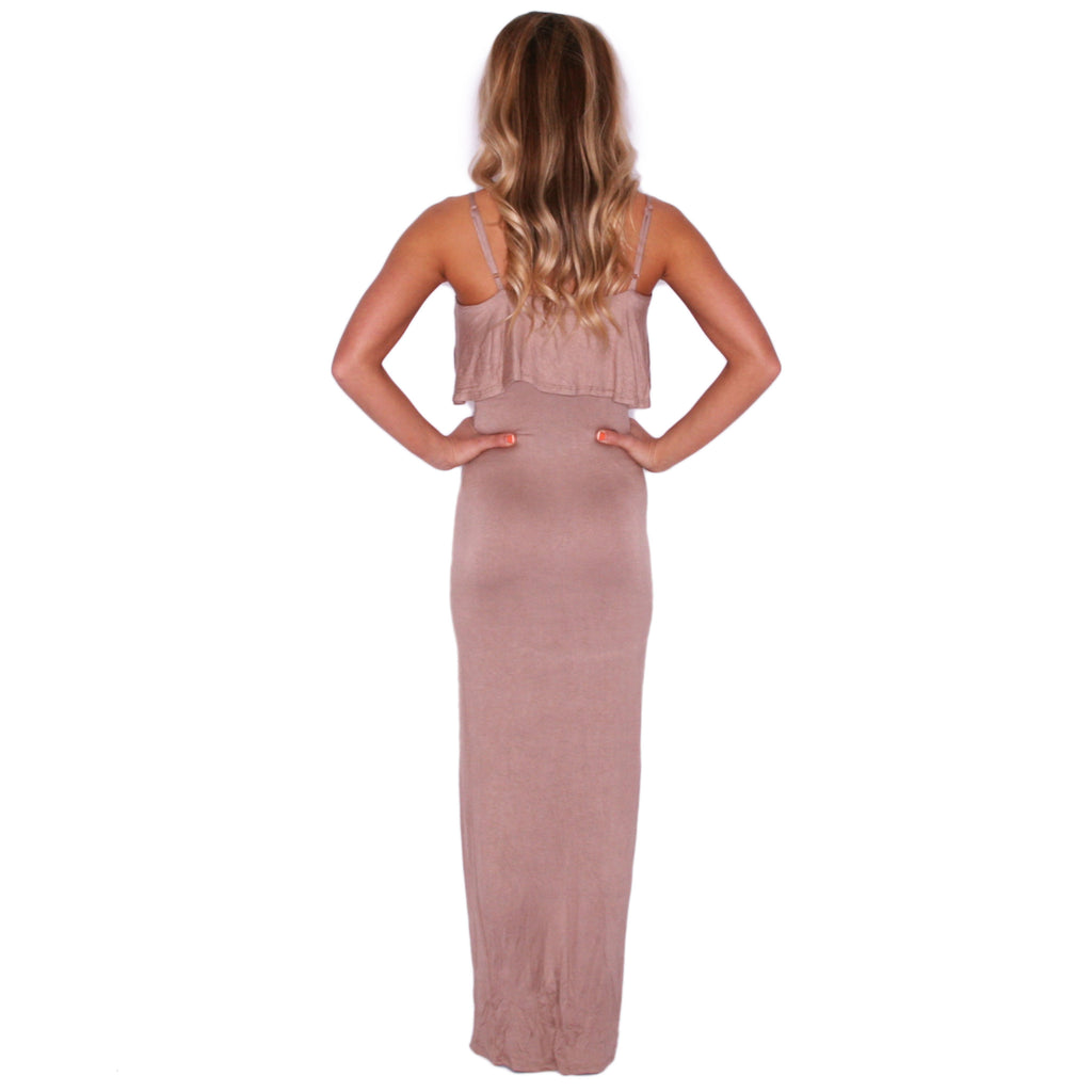 Flawless Maxi in Tan