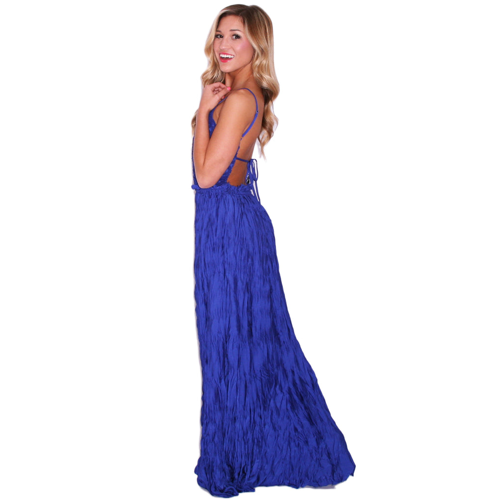 Forever Beautiful Maxi in Blue