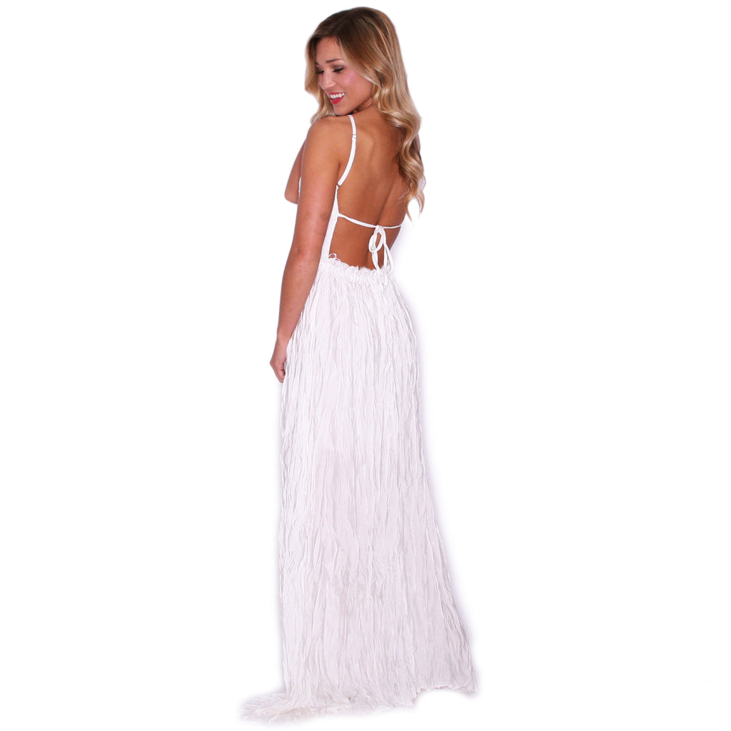 Forever Beautiful Maxi in White