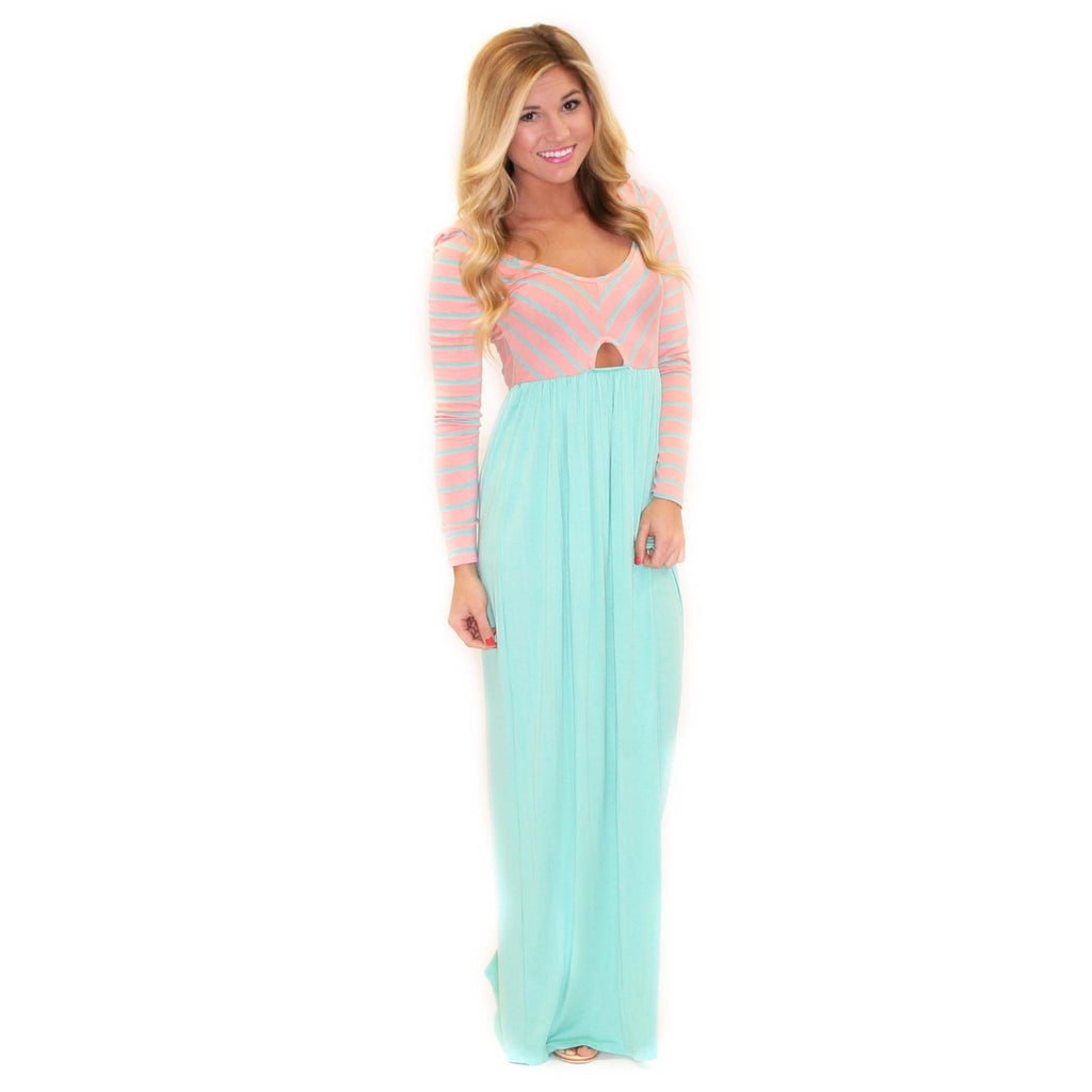 French Cinema Maxi Mint/Pink