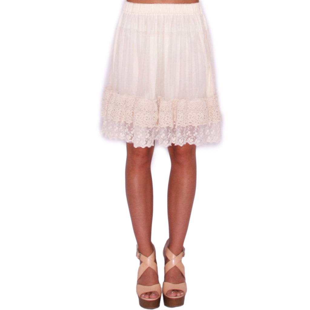 Frilly Engagement Skirt