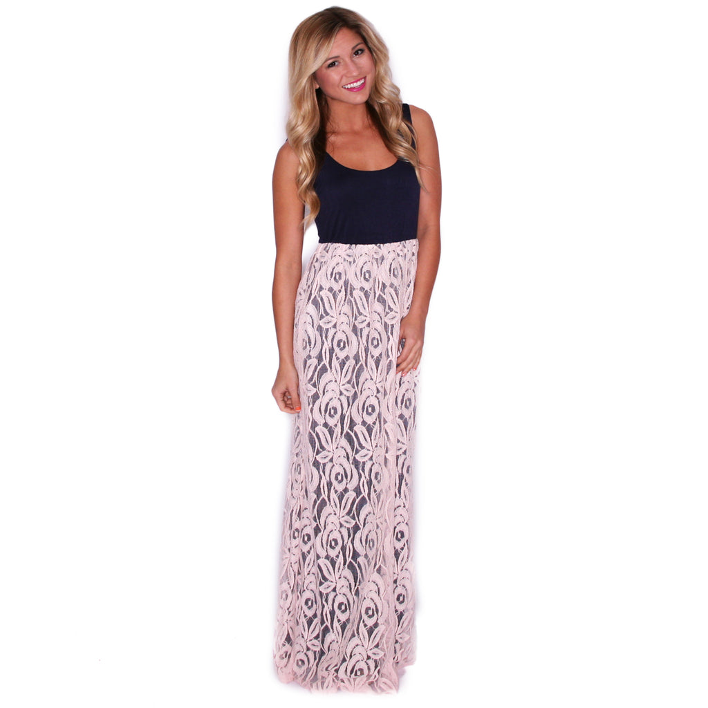 Full Of Grace Maxi in Baby Pink