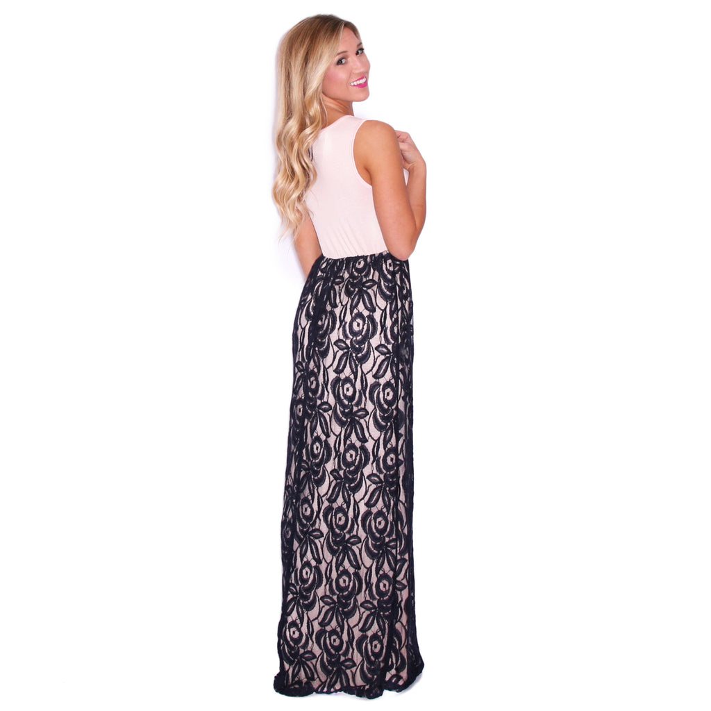 Full Of Grace Maxi in Navy