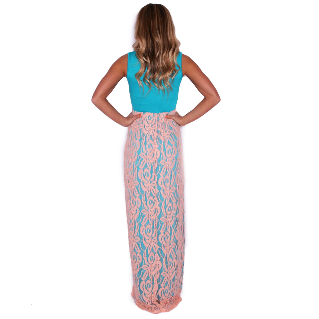 Full Of Grace Maxi in Peach