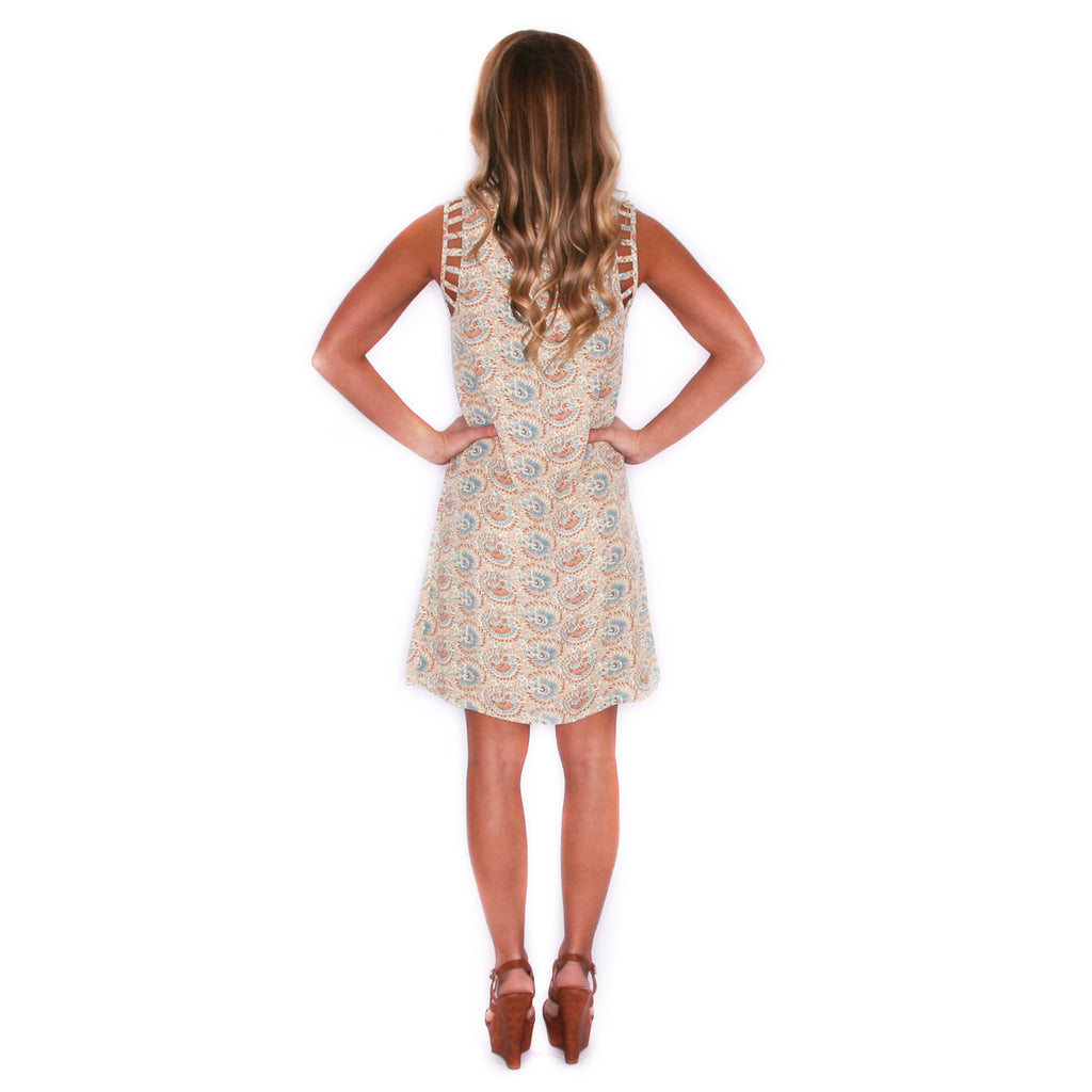 Garden Party Dress Taupe