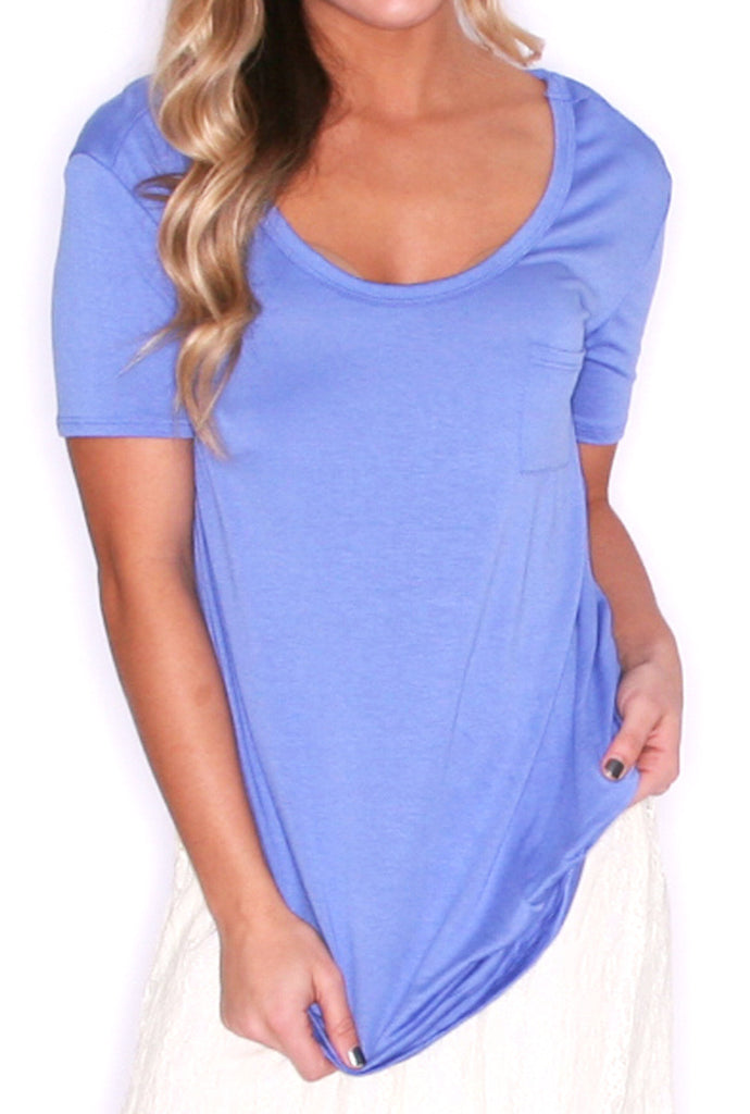 Girl Of Your Dreams Tee in Blue