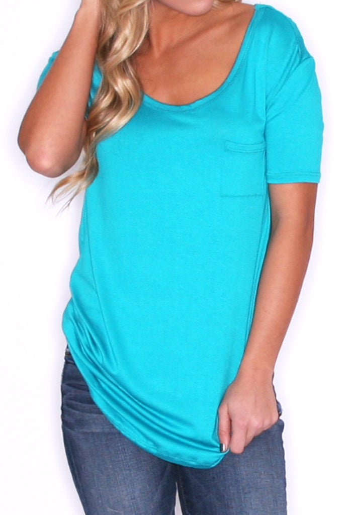 Girl Of Your Dreams Tee in Jade