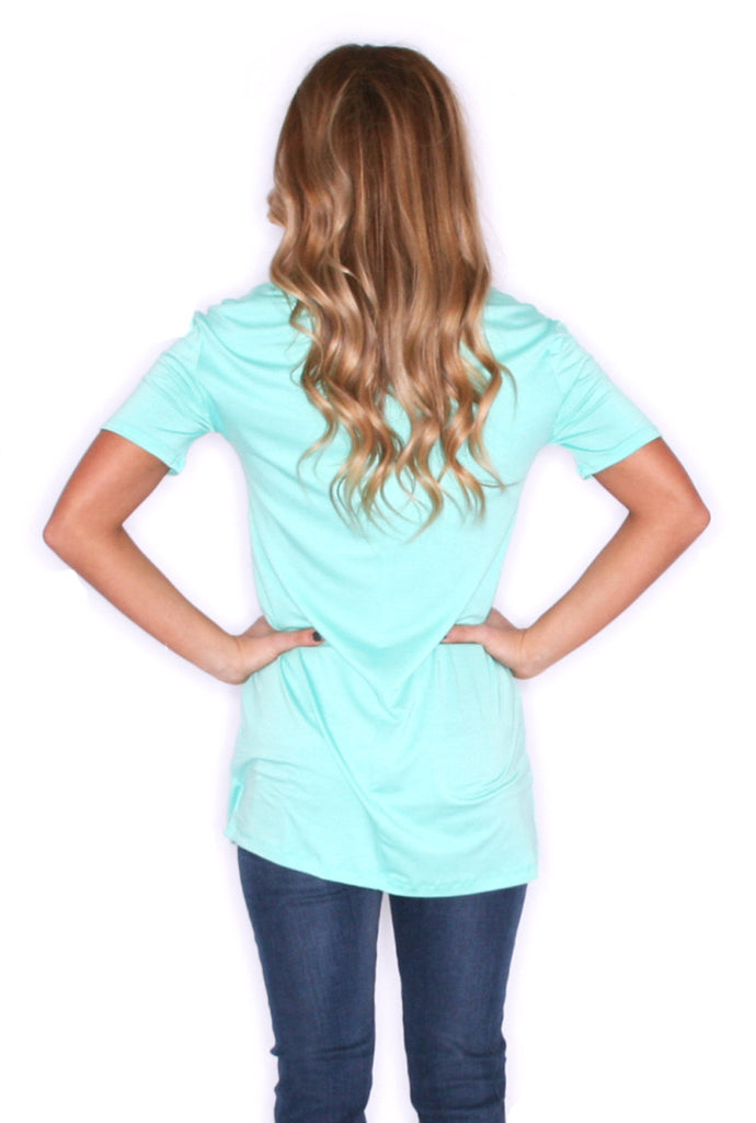 Girl Of Your Dreams Tee in Mint