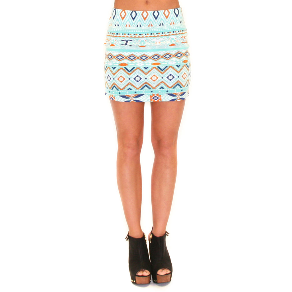 Girl's Night Skirt in Mint