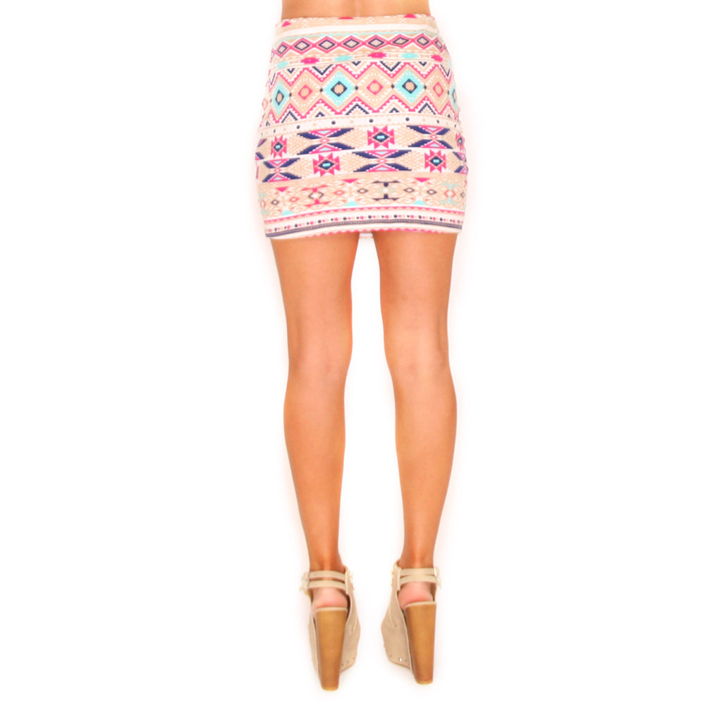 Girl's Night Skirt in Taupe