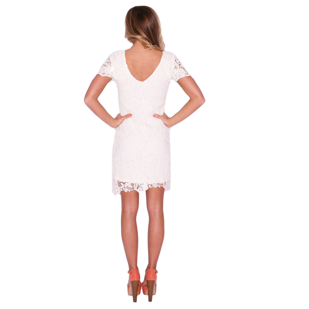 Glamour Girl Dress in Ivory