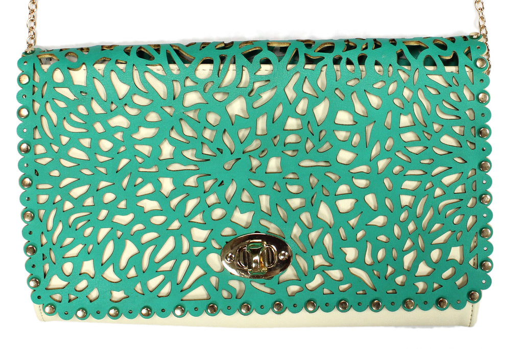 Glam Squad Cutout Clutch