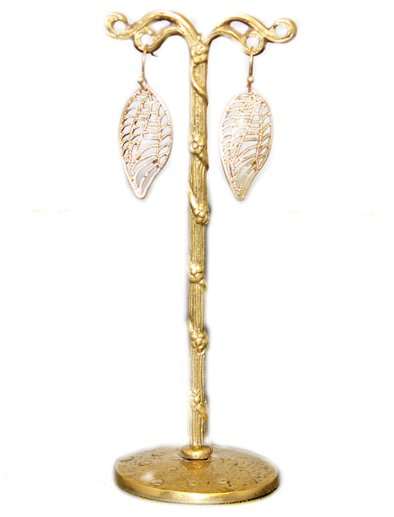 Golden Leaves Earring